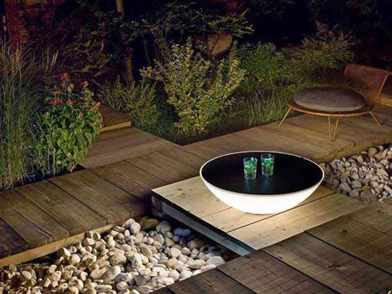 Spannende Inszenierung Ihres Gartens mit Licht und Schatten