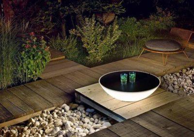 Außergewöhnlich – Lichtskulpturen aus Cortenstahl ziehen die Blicke auf sich
