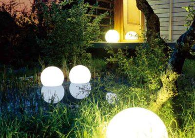Klassiker – Moonlights lassen sich in (fast) jede Gartensituation integrieren