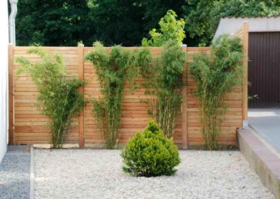 Gute Kombination – Bambus und Holzelemente machen sich gut zusammen