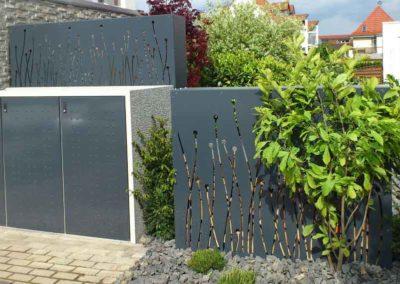Besonderer Sichtschutz – Holzlager eignen sich hervorragend als Sichtschutz