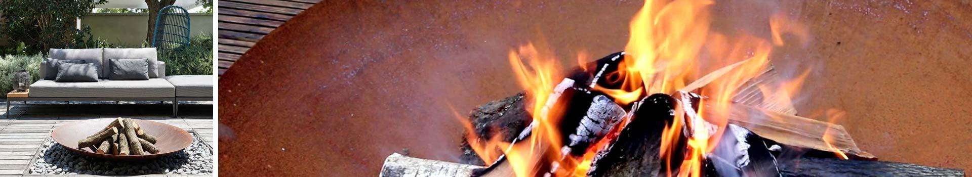 Feuerelemente für eine schöne Atmosphäre