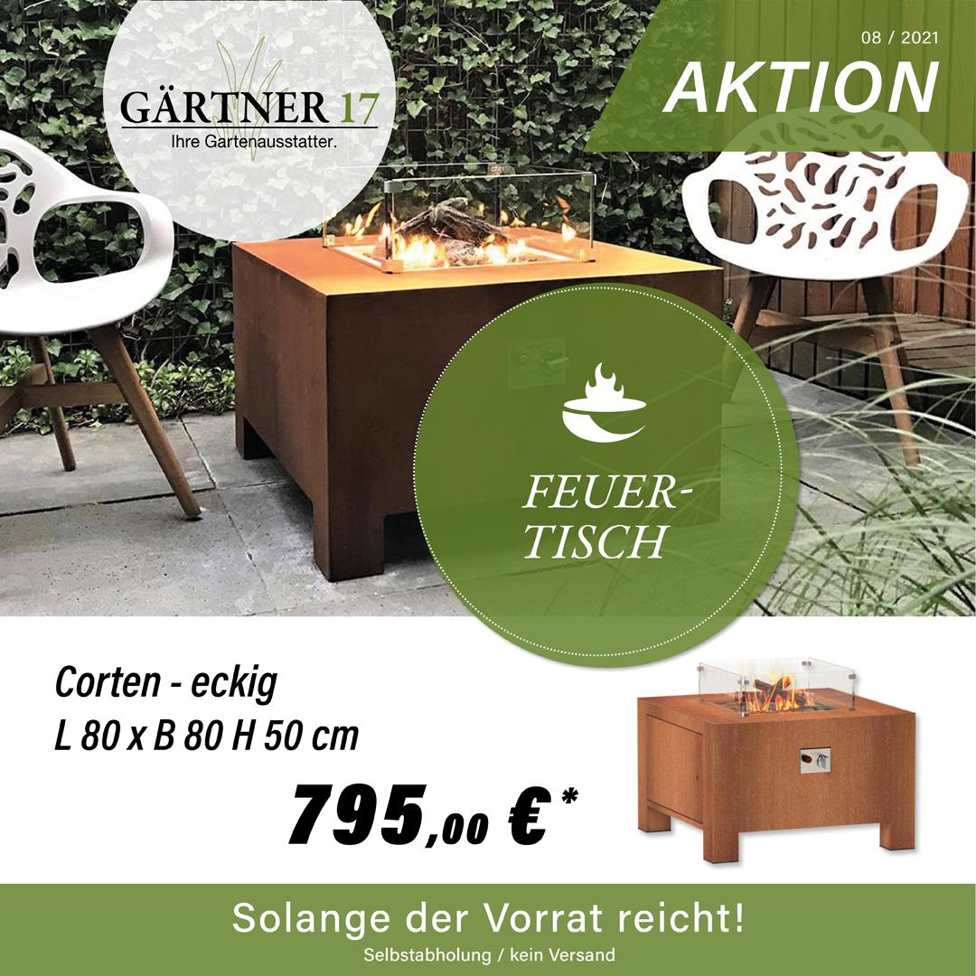 Aktion Feuertisch - Gärtner 17