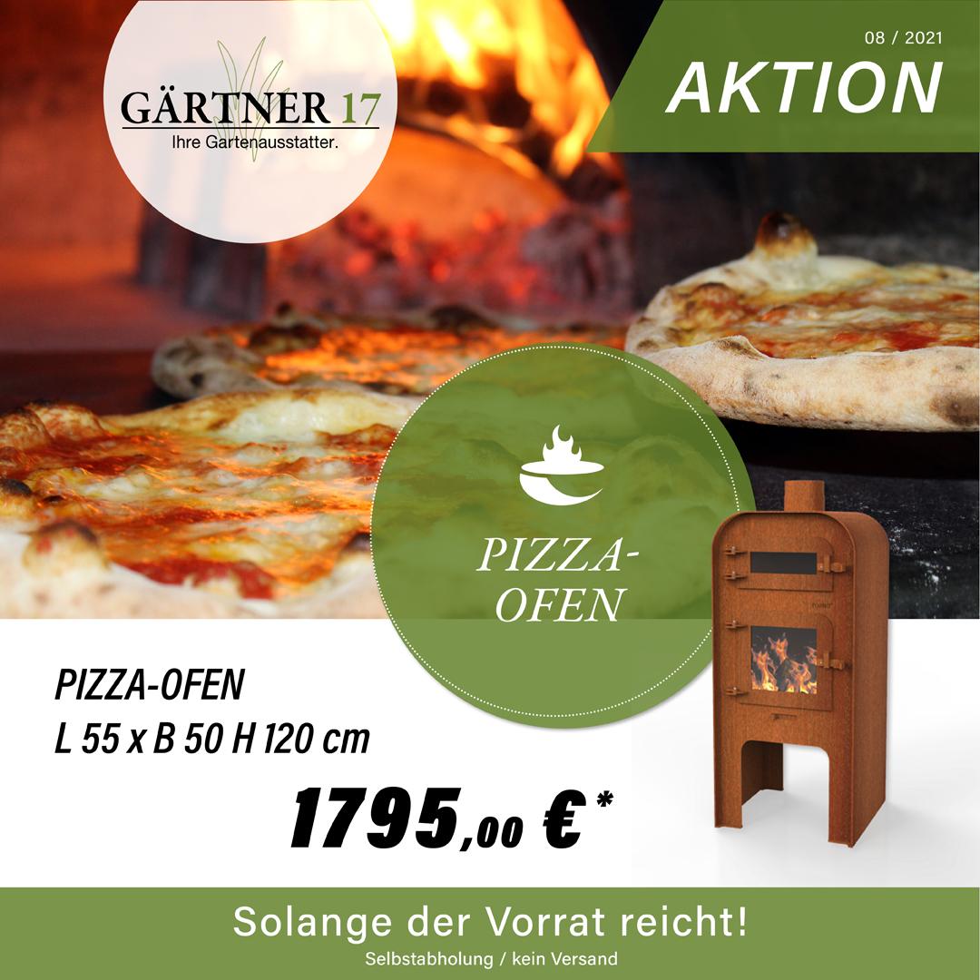 Aktion Pizzaofen - Gärtner 17